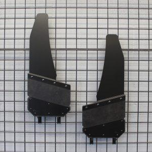 AH3-14″Wide Black Powder Coat